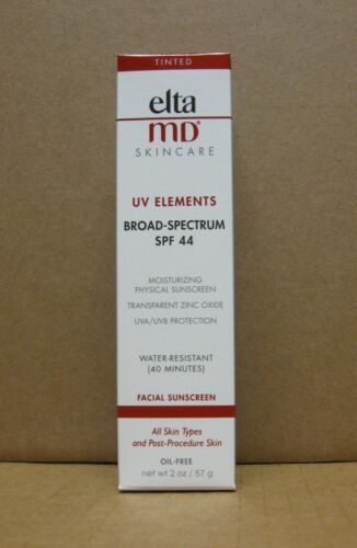 ELTAMD Elta MD Tinted UV Elements Broad Spectrum SPF 44 - 2 oz / 57 g EXP 11/20