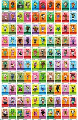Animal Crossing Amiibo Cards - Series 1 (#001-100) BRAND NEW(USA Version)Mint