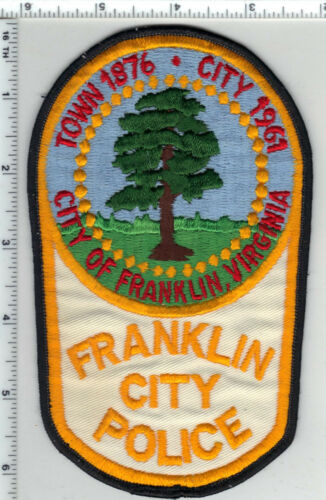 Franklin City Police (Virginia) 2nd Issue Shoulder Patch