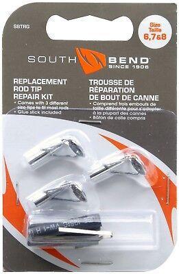 - Fishing Rod Tips Rod Repair Kit 3 Tip Sizes & HEAT SHRINK  Easy Pole Fix SBTRL