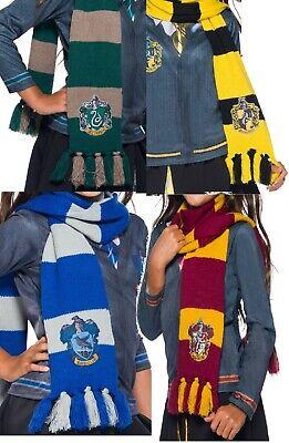 Mädchen Jungen Deluxe Harry Potter House Schal Büchertag Kostüm Outfit Zubehör