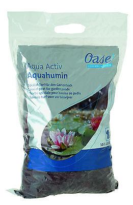 Oase AquaActiv AquaHumin biologischer Algenschutz 10 l für 10.000 ltr Teich,Torf