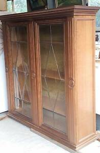 Antique display cabinet/ book shelf Malvern East Stonnington Area Preview