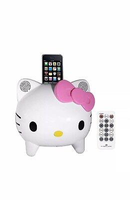 iPod iPhone Hallo Kitty  Dockingstation Bluetooth Lautsprecher in OVP