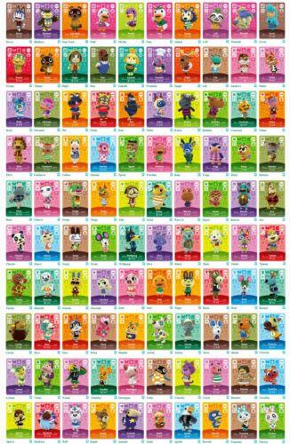 Animal Crossing Amiibo Cards - Series 3 (#201-300) BRAND NEW(USA Version)Mint