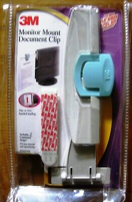 3m Monitor Mount Document Clip