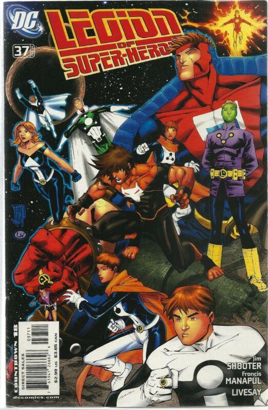 Legion 1989 series # 37 near mint comic book