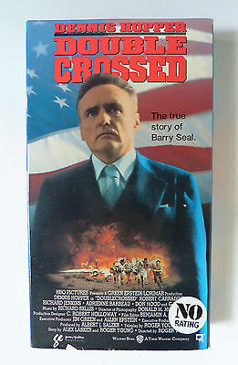 Doublecrossed (VHS, 1992) Dennis Hopper Very Rare OOP Not on DVD DEA