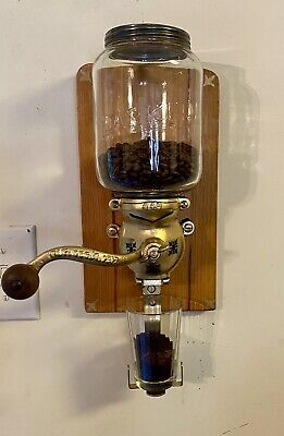 Parker Wall Mount Coffee Grinder Glass Hopper 449