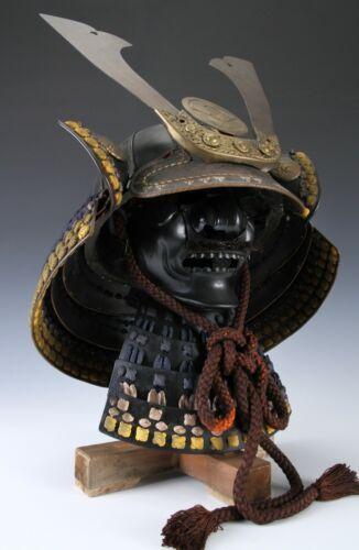 Beautiful Vintage Samurai Kabuto Helmet and Mask -WEARABLE-