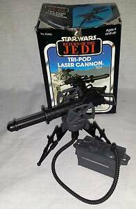 Tripod Laser Cannon boxed original, Vintage Star Wars ROTJ Kenner Dianella Stirling Area Preview