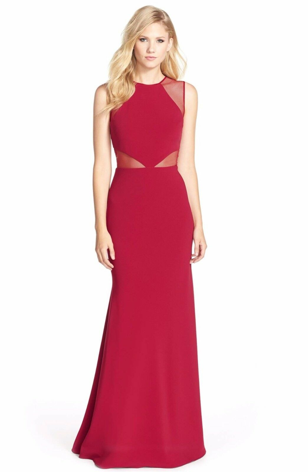 UPC 628707744128 - Js Collections Illusion Inset Gown | upcitemdb.com