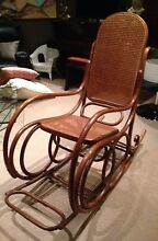 Vintage Bentwood Rocking Chair South Perth South Perth Area Preview