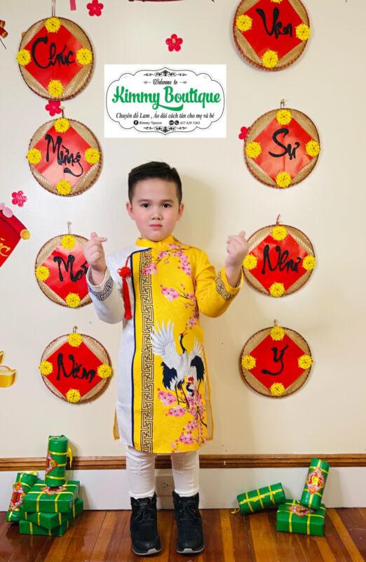 Vietnamese ao dai For Boy