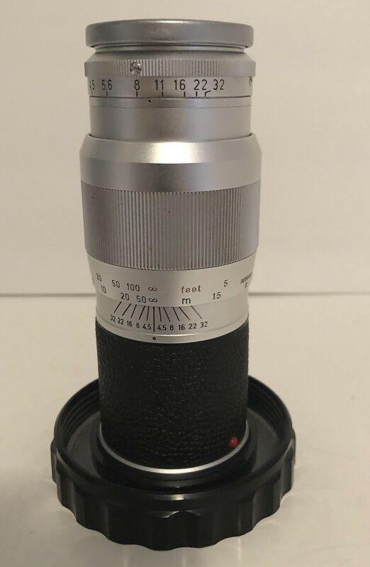 Leitz Wetzlar Hektor 1:4.5 / 135mm Lens 1647750 fits Leica M3 Camera