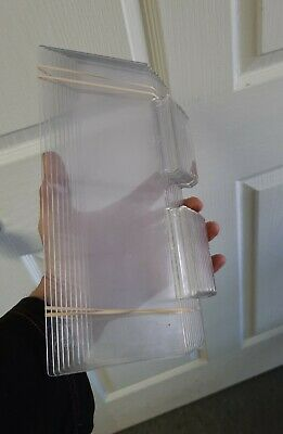 Clear Plastic Shelves For Slat Wall 10 X 4 - Pack Of 5