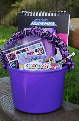 Party Like a Rockstar Rock 'n' Roll Girl Birthday Gift Bucket Party Favor (Rockstar Party)