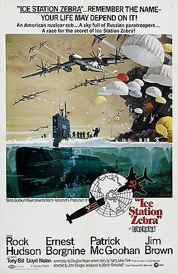 ICE STATION ZEBRA MOVIE Silk Poster 11