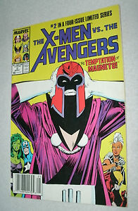 MARVEL-1987-MAY-THE-X-MEN-VS-THE-AVENGERS-2-IN-A-FOUR-ISSUE-LIMITED-SERIES