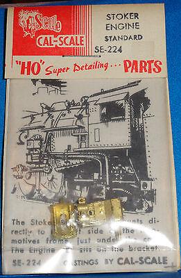VINTAGE; Cal-Scale #SE 224 Stoker Engine Standard (HO Scale) #1