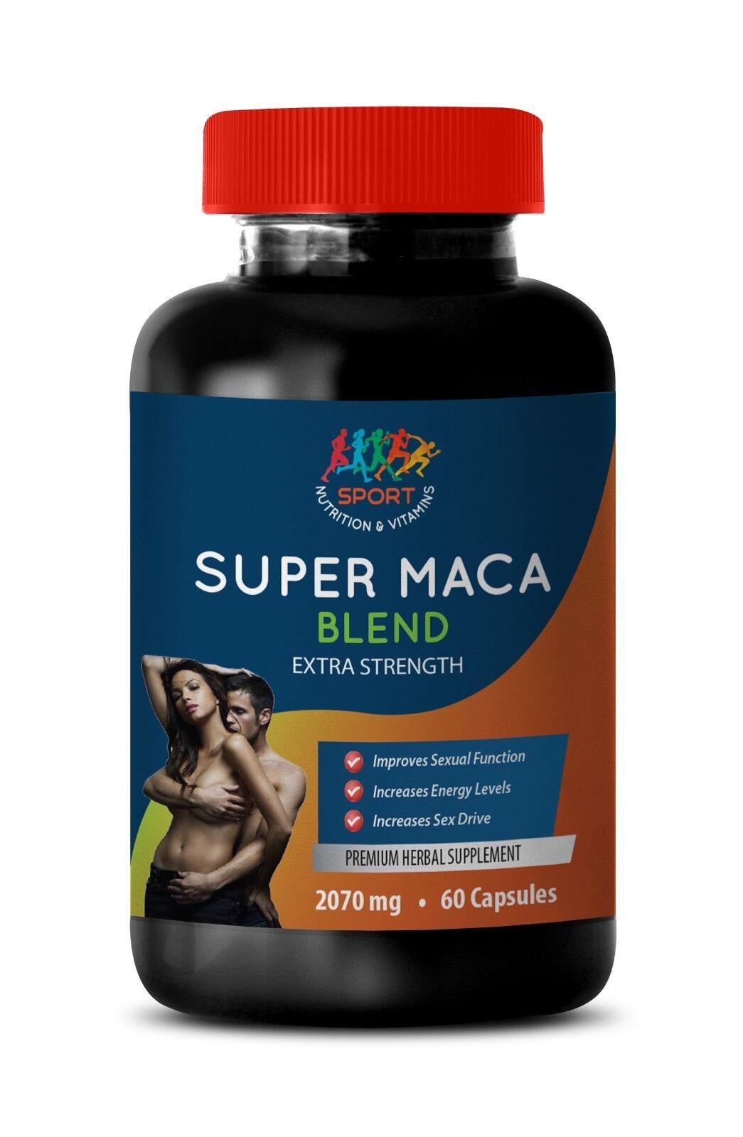 sex pills for men, Super Maca Blend 2070mg, peruvian ginseng