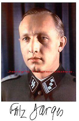 Fritz DArges signed photo. Scarce !!