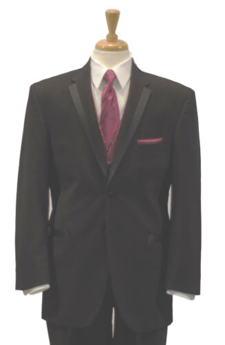Claiborne Lord West 100% Wool Two Button Tuxedo Coat + Matching Pants