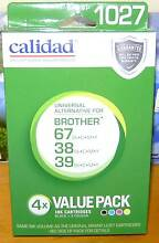NEW COLOURED (3) INK CARTRIDGES - CALIDAD -VP1027 Woy Woy Gosford Area Preview