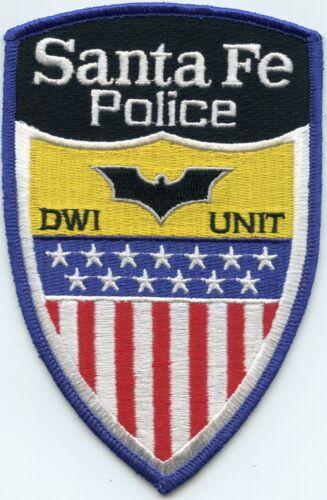SANTA FE NEW MEXICO NM DWI DUI Drunk Driver Traffic Enforcement POLICE PATCH