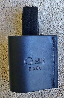 Police Or Ham Radio Holder For Duty Belt 2 14 Made By Gould New Adjustable