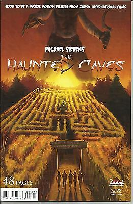 MICHAEL STEVENS' THE HAUNTED CAVES # 1 VERY FINE PLUS 2008