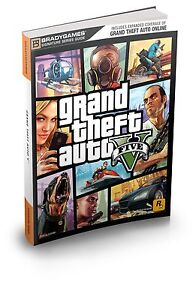 GRAND THEFT AUTO V SIGNATURE SERIES STRATEGY GUIDE Updated & Expanded WH4 PB NEW