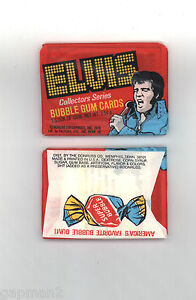 Elvis-Presley-1978-Boxcar-Collectors-Series-Bubble-Gum-Cards-Sealed-Wax-Pack