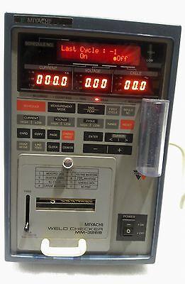 Miyachi Used Mm-326b-06-26 Weld Checker Ac230v