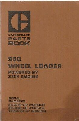 Caterpillar 950 Wheel Loader 81j7846-up Parts Manual