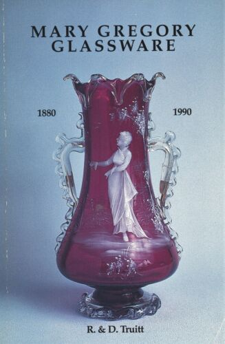 Mary Gregory Type Glassware 1880-1990 - History Examples / Scarce Book + Values