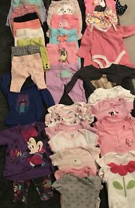 "0-3 mos ""girl"" lot. (Less than $1 per item)"