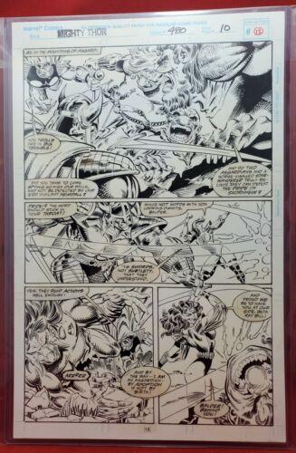 Mighty Thor #480 Pg 13 Original Art