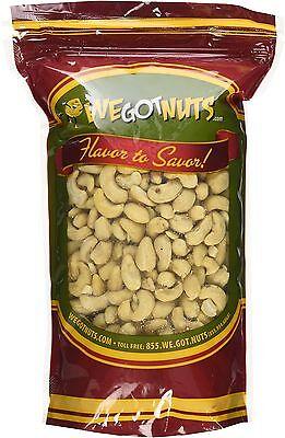 Cashews, Whole, Raw, 320, Bulk Nuts - We Got Nuts (2 LBS.)