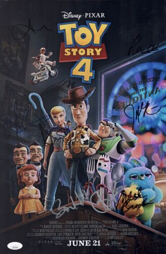 Annie Potts TOY STORY 4 Cast X8 Signed 11x17 Photo In Person Autograph JSA COA