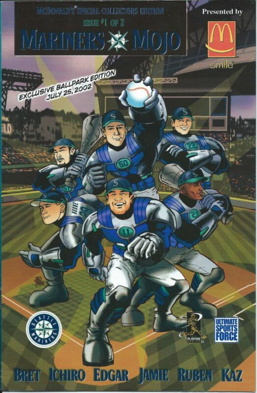 SEATTLE MARINERS MOJO 1 McDONALDS SPECIAL COLLECTORS GIVEAWAY PROMO 2002 SGA NM