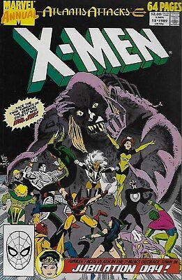 The Uncanny X-Men Annual No.13 / 1989 Atlantis Attacks
