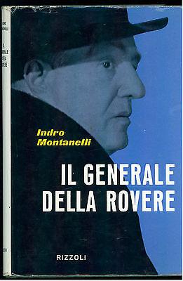 MONTANELLI INDRO IL GENERALE DELLA ROVERE RIZZOLI 1959 ZODIACO GIORNALISMO