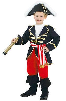 Lord Nelson Kinderkostüm der britische Held Seefahrer  - Britische Kostüm Kinder