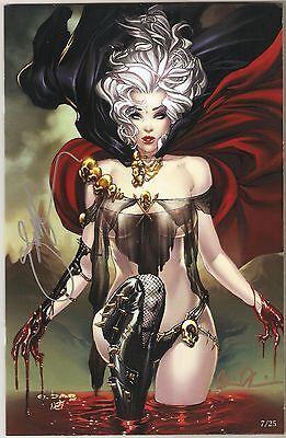 Lady Death #0. Virgin Art Edition. #7/25. Signed Pulido & EBas.