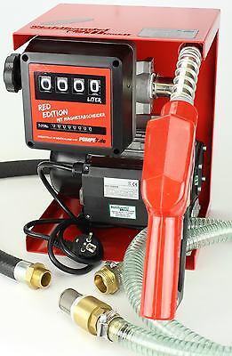 Pumpe 230V Dieselpumpe Set Tankstelle aus Deutschland Magnet-Abscheider