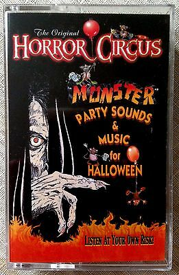 The Original HORROR CIRCUS: MONSTER PARTY SOUNDS & MUSIC for HALLOWEEN! - Horror Sounds For Halloween