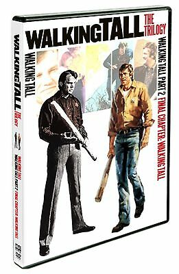 The Walking Tall Trilogy DVD 1973 1975 1977 Action Film PART Final Chapter Video