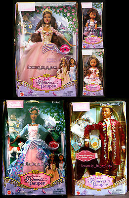 Anneliese Erika Barbie Doll Dominick African American Princess and Pauper AA 5