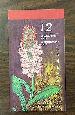 {BJ Stamps} CANADA, #1787-1790, BK219, 1999 Canadian Orchids Booklet. CV $11.50